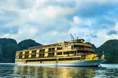 Combo 3N2Đ Du Thuyền Golden Cruise 9999 5* + KS Phát Linh Hotel 5* + VMB