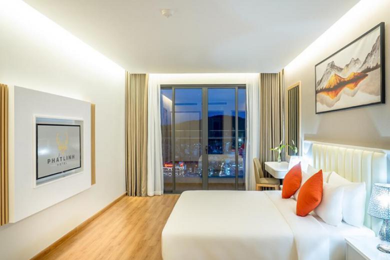 Phòng nghỉ tiện nghi tại KS Phát Linh Hotel 5*