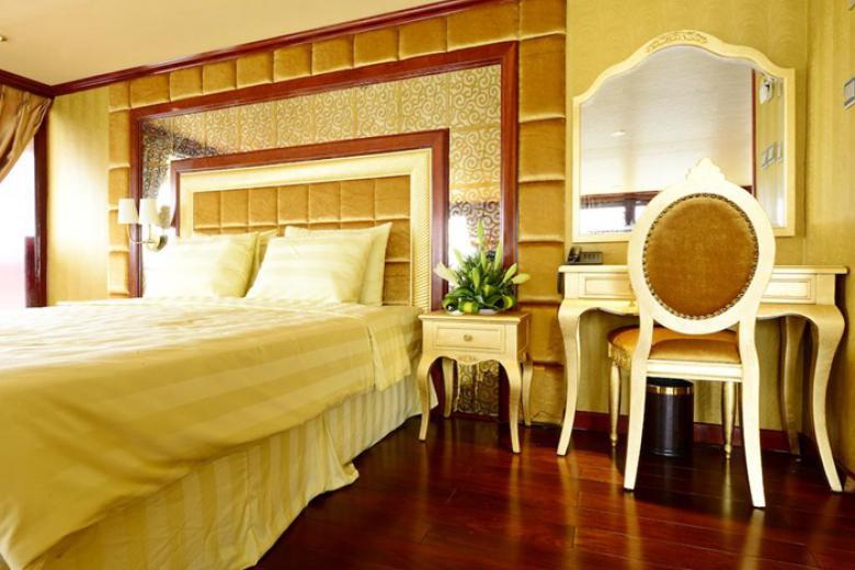 Phòng nghỉ đậm chất hoàng gia