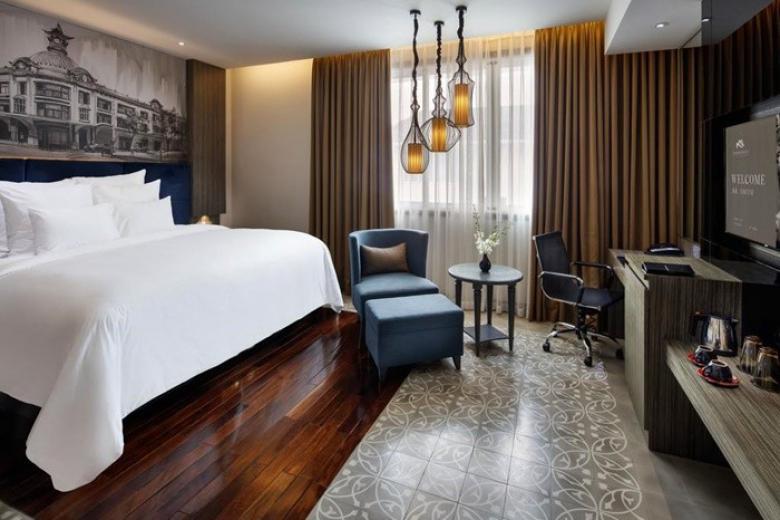 Phòng nghỉ tại KS Paradise Suites Hotel 4*