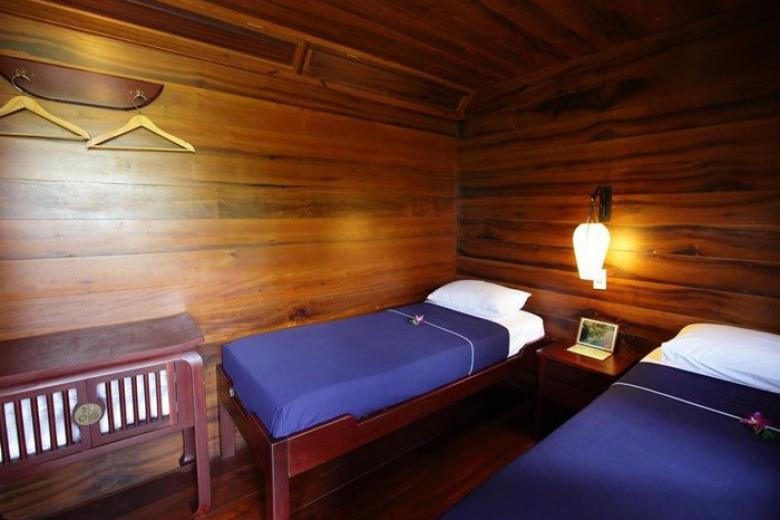 Cabin 2 giường đơn trên Du thuyền Bassac