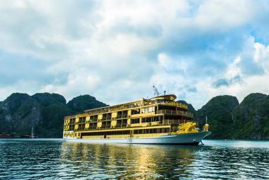 Hà Nội - Hạ Long - Du thuyền Golden 5* 2N1Đ (Du thuyền lớn nhất Hạ Long)