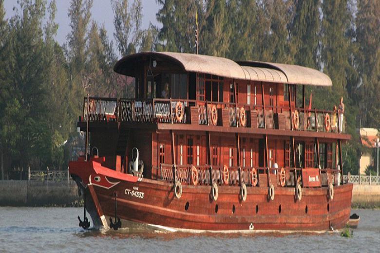 HCM - Cái Bè - Sa Đéc - Cần Thơ - Du thuyền 4* Le Cochinchine