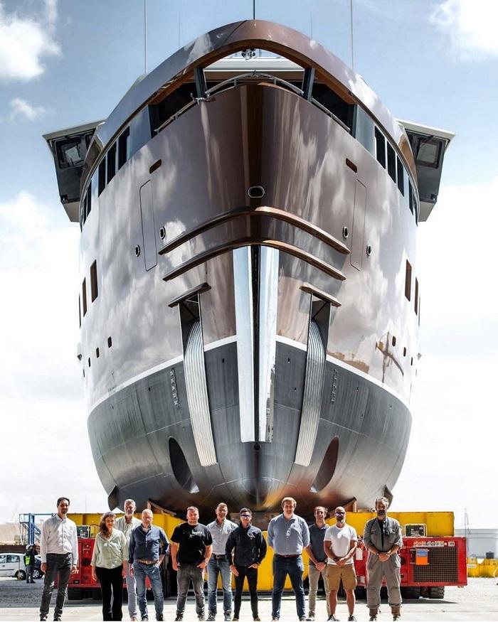 du thuyền La Datcha hoàn thiện 2