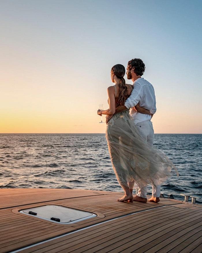 du thuyền La Datcha thư giãn