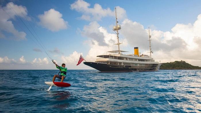 du thuyền Nero tiện ích giải trí hàng đầu
