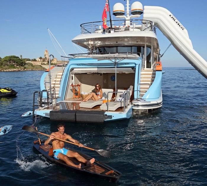 du thuyền ấn tượng trên thế giới Aurelia giải trí 1