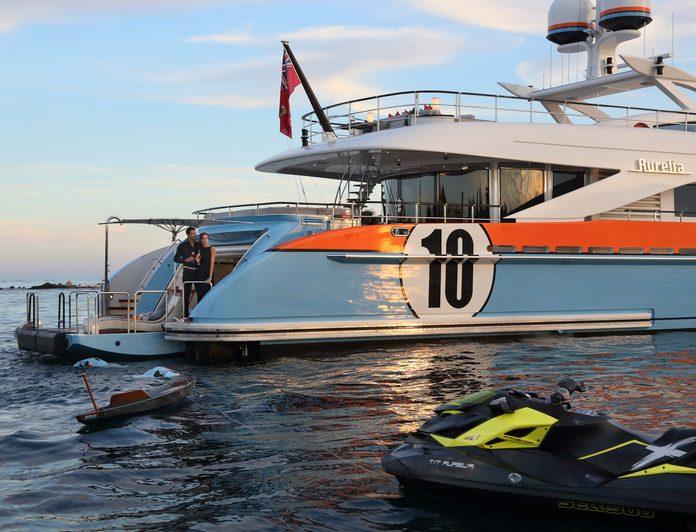 du thuyền ấn tượng trên thế giới Aurelia giải trí 2