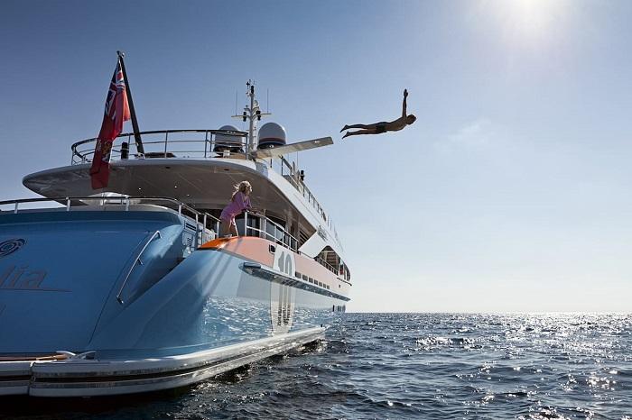 du thuyền ấn tượng trên thế giới Aurelia ngoại thất