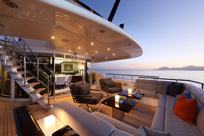 du thuyền ấn tượng trên thế giới Aurelia nội thất
