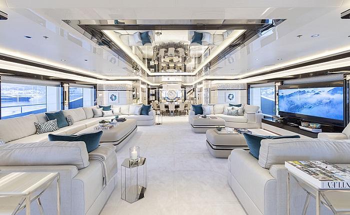 du thuyền ấn tượng trên thế giới Go nội thất