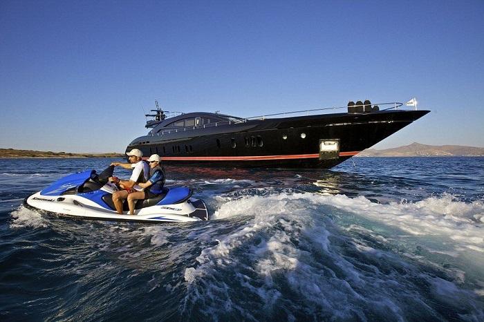 du thuyền ấn tượng trên thế giới OPati ngoại thất