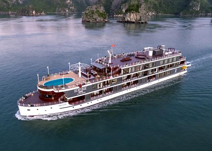 Trở về ký ức với du thuyền Heritage Bình Chuẩn với đầy ắp trải nghiệm 'sang - xịn - mịn'