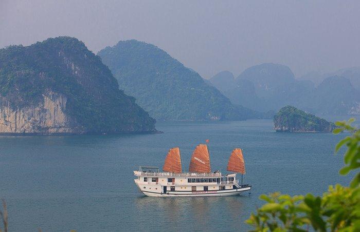 Du thuyền Imperial Hạ Long nơi những cảm hứng được thăng hoa