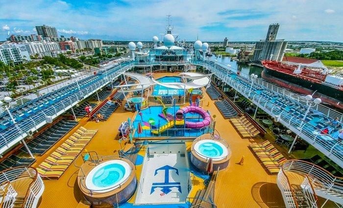 Du thuyền Majesty of the Seas