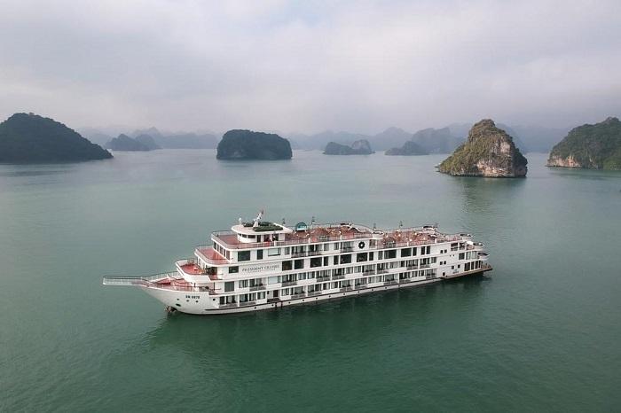 Du thuyền President Cruises xa hoa bậc nhất trên vịnh Hạ Long