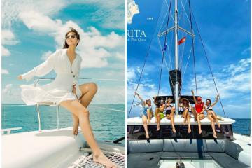 Lướt cánh buồm mơ cùng du thuyền Catamaran Sarita Phú Quốc