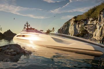 Ngắm nhìn du thuyền Project Sunrise – 'khách sạn' đẳng cấp 5 sao trên biển