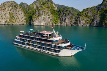 Combo Hạ Long 3N2Đ: Du thuyền Rosy 5* + Phát Linh Hotel Hạ Long 5*