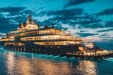 Bên trong siêu du thuyền Lurssen Flying Fox trị giá 400 triệu USD