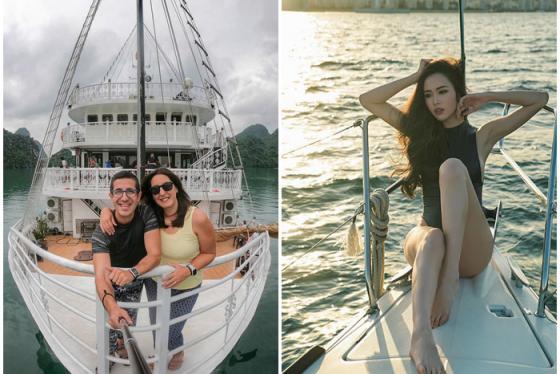 Check-in du thuyền Unicharm Lan Hạ 'khách sạn nổi đẳng cấp' giữa Vịnh biển đẹp nhất thế giới