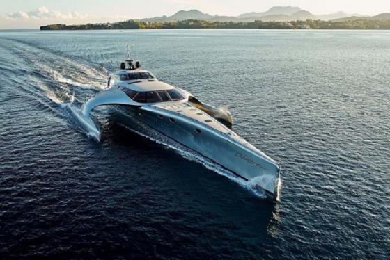 Siêu du thuyền Adastra Trimaran – thiết kế bứt phá mọi giới hạn