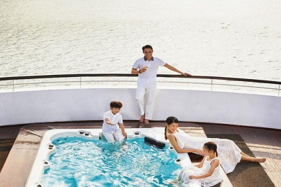 Top những du thuyền có bể bơi cực đỉnh tha hồ chill và sống ảotại Hạ Long
