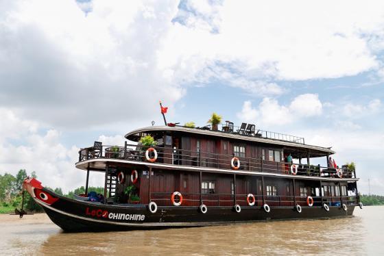 Ngắm dòng Mekong thơ mộng từ du thuyền Le Cochinchine