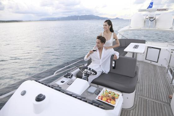 Mục sở thị siêu du thuyền Khaliah được ra đời để 'làm rung chuyển thế giới du thuyền'