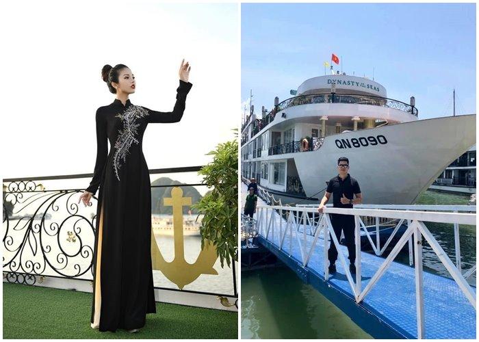 """Du thuyền Dynasty Of The Sea 'tòa lâu đài Pháp"""" lộng lẫy giữa kỳ quan Hạ Long"""