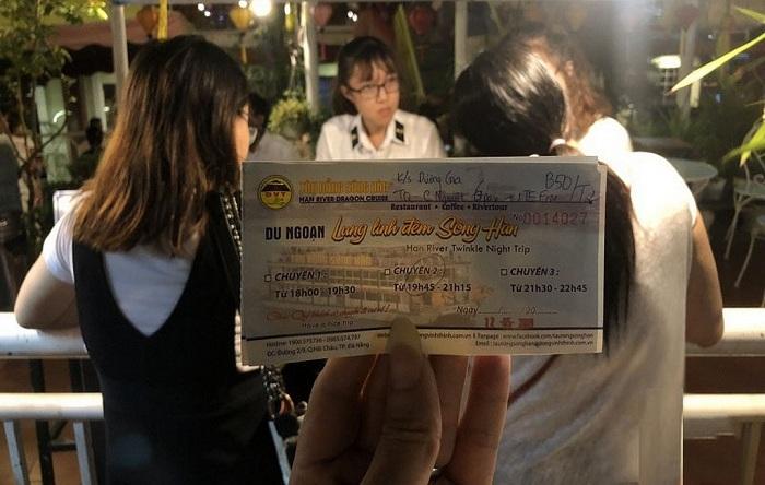 Kinh nghiệm đi du thuyền sông Hàn Đà Nẵng: giá vé