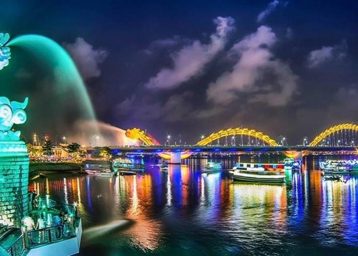 Kinh nghiệm đi du thuyền sông Hàn Đà Nẵng xem rồng phun lửa
