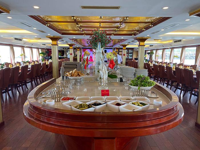 Du thuyền Golden Cruise - Du thuyền 5 sao sang trọng và lớn nhất Vịnh Hạ Long