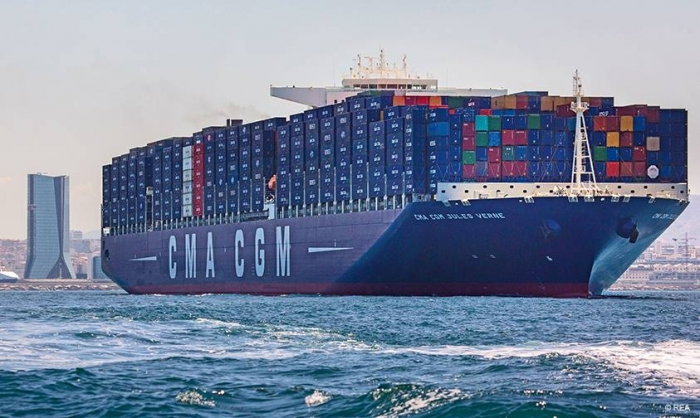 Top 10 hãng tàu lớn nhất thế giới: CMA CGM