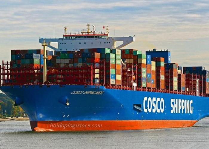 Top 10 hãng tàu lớn nhất thế giới: COSCO