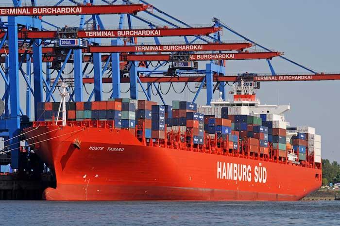 Top 10 hãng tàu lớn nhất thế giới: hamburg-sud