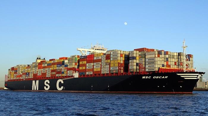 Top 10 hãng tàu lớn nhất thế giới: MSC