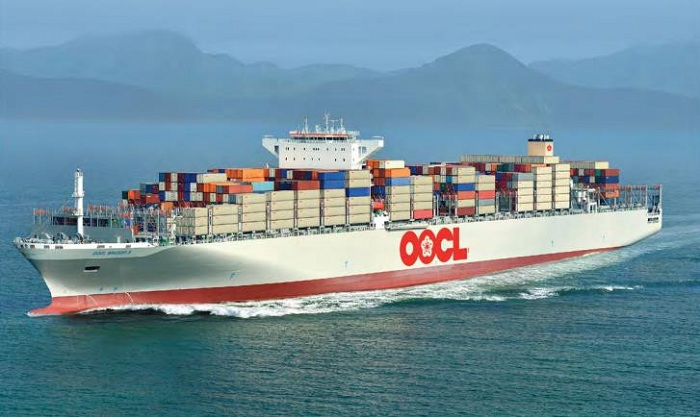 Top 10 hãng tàu lớn nhất thế giới: oocl