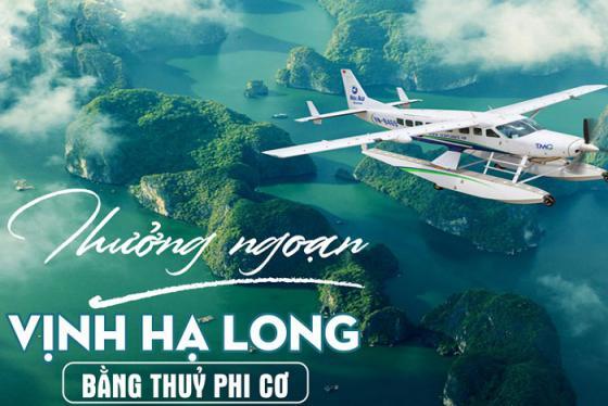 Kinh nghiệm đi thủy phi cơ Hạ Long cho du khách trải nghiệm lần đầu