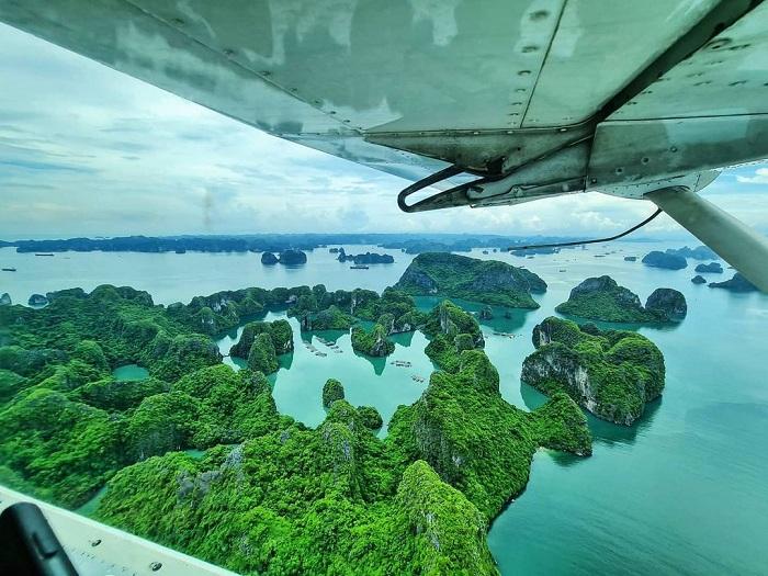 View thủy phi cơ Hạ Long cực đỉnh