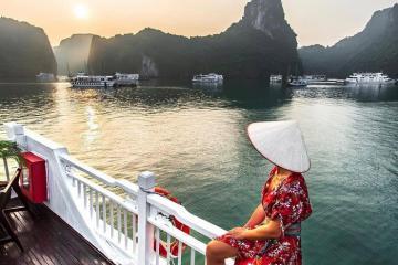 Nét cuốn hút khó cưỡng của du thuyền Apricot Premium Cruise đẳng cấp trên vịnh Hạ Long