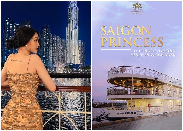 Check-in du thuyền Sài Gòn Princess đẳng cấp 5 sao khám phá cung đường trên sông đắt giá nhất